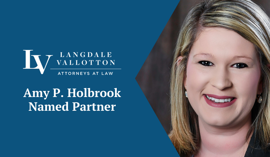 Amy Holbrook Named Partner